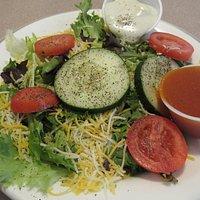 My tasty, fresh, crisp salad