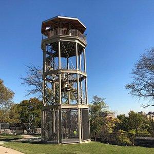 Harlem Fire Watchtower, built 1856, restored 2019