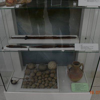 catapult, stone & swords - periods BC