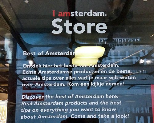 I Amsterdam Store