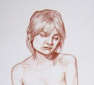 sanguine drawing