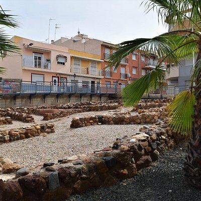 The roman ruins of Casa Romana de la Calle Era