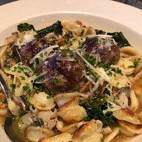 Meatball dish - amazing!