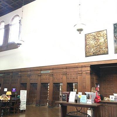 Pasadena Library Main Lobby & Checkout