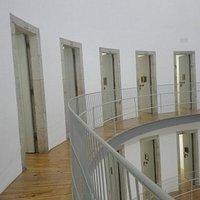 Interior del centro cultural