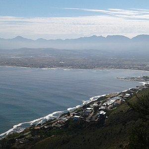 View towards Gordon's Bay