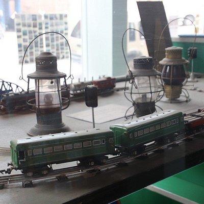 The miniature train