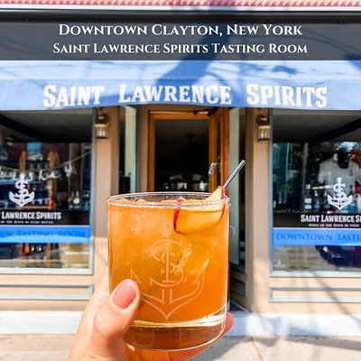 We are open year round in Downtown Clayton, New York! Stop by and taste our award-winning spirits!