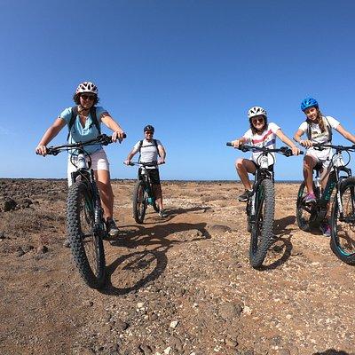 Randonnée en vélo électrique proche de Playa Blanca
