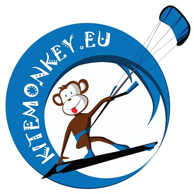 kitemonkey kitesurf lessons in Athens  - the logo