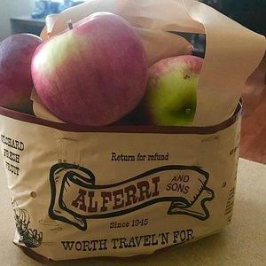 Fresh Apples and Pumpkins