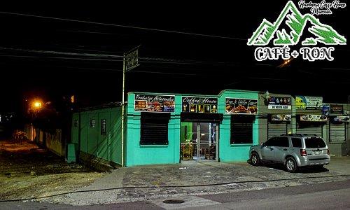 Café + Ron Estamos Carretera CA5, Km 116 Frente a Dumbar ó contiguo a Gasolinera UNO en el Barrio San Ramón. 200 metros adelante de Restaurante Don Tiki viajando a Tegucigalpa. Cel & WhatsApp: 9950-0766. Email: info@cafemasron.com