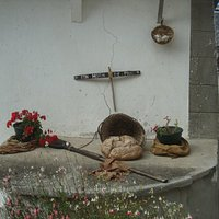 Detalle de decoración del pueblo