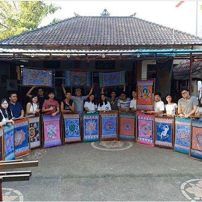 Batik workshop with Widya's Batik Thanks all of you guys🎨