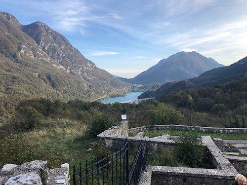 Vista sul Lago di Cavazzo !