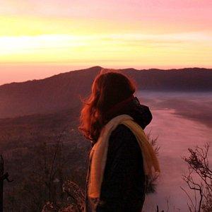 Sunrise in Mt. Bromo
