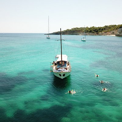 Spartines beach Alonissos Island  Sporades National Marine park