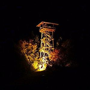Auch bei Nacht wunderschön anzuschauen...