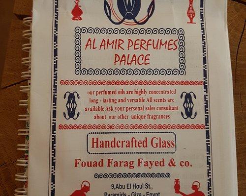 Prospectus al amir perfumes palace