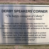 Derby Speakers Corner
