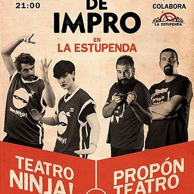 Catch de Impro en La Estupenda: Propón Teatro vs Teatro Ninja!