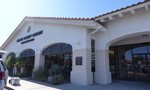 Locate this library on the Main Street of LHC (McCulloch Blvd)