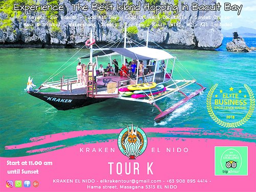 Join us and enjoy the Best Island Hopping tour in Bacuit Bay!