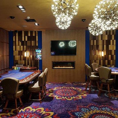 Live game room at Favbet casino Split