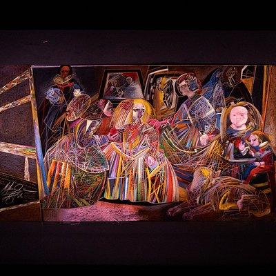 """Центр Михаила Шемякина. Выставка """"Шемякин. Пикассо. Веласкес. Картины как модели. История трансформаций"""""""