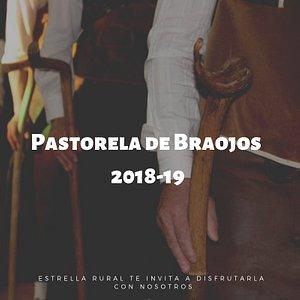 La pastorela en la Iglesia de Braojos en Navidad
