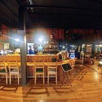 Inside the lovely Hongu Cafe in Nikko, Japan (04/Nov/19).
