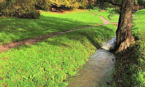 10.  High Weald Area of Outstanding Natural Beauty; Crane River Valley, Cranbrook