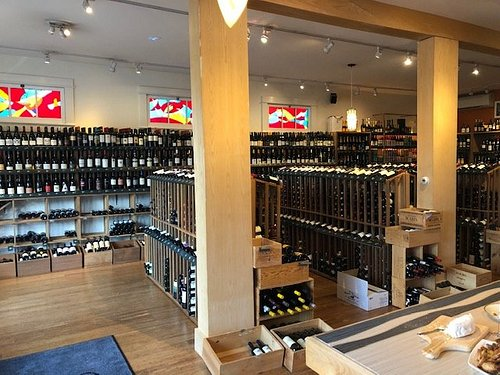 Great wine shop and cheeses
