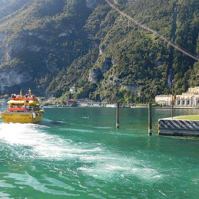Speedy Gonzales leaving Riva Del Garda
