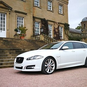 One of our Executive fleet on duty at Dumfries House