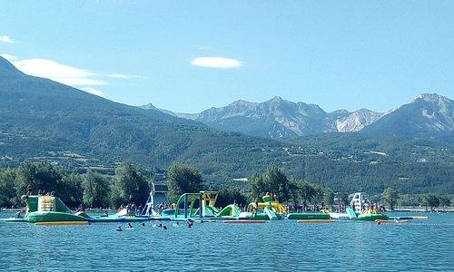 jeu , lac Serre Ponçon
