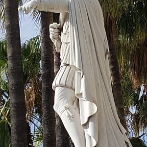 Statue de Charles Felix de Savoie