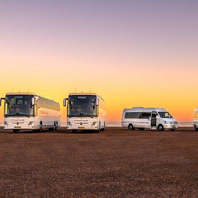 Luxury coaches and minibuses - www.vanheugtentours.nl