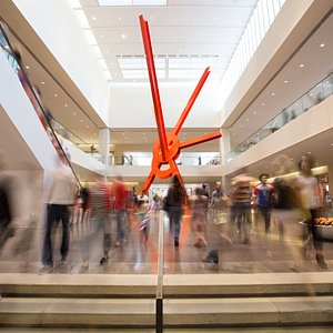 Ad Astra, a major large-scale work of art by world-renowned artist Mark di Suvero, is just one of hundreds of contemporary and modern artwork available for public viewing at the most visited shopping center in Dallas, NorthPark Center.