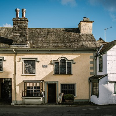 The Beatrix Potter Gallery is a quirky 17th Century building, nestled in the heart of Hawkshead village.