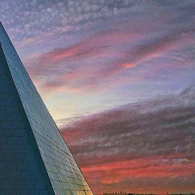 Sunset looking towards downtown Phoenix