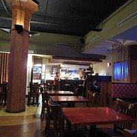 Inside facing bar area