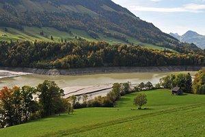 paysage proche de Gruyères