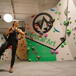 Vertical'Art Pigalle-Salle d'escalade de bloc-Grimpeur Vertical'Art Pigalle