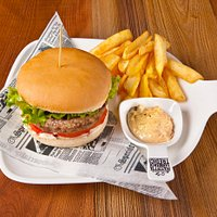 Hamburger gourmet Classic by Piazzettasanmarco13