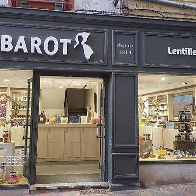 Boutique spécialisée dans la lentille verte du Puy, les champignons séchés, les escargots...