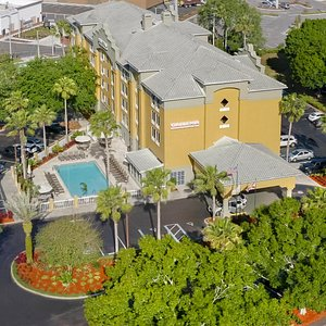 Aerial Picture Of Hotel
