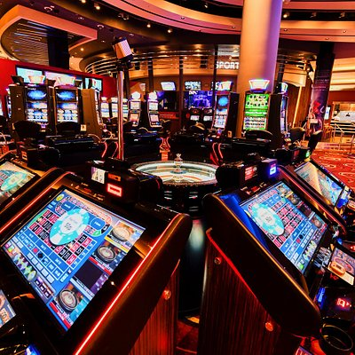 Resorts World Casino Gaming Floor