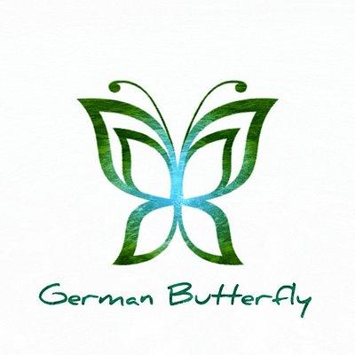 German Butterfly in Guadeloupe! Unser Logo!  Liebe Grüße  David & Mercedes