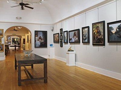 Gallery interior, Kyle Stuckey Solo Exhibition